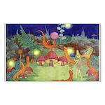 The Fairy Circus Sticker (Rectangle)