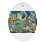 The Fairy Circus Ornament (Oval)