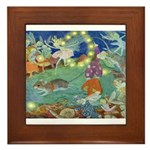 The Fairy Circus Framed Tile