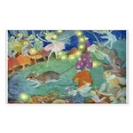 The Fairy Circus Sticker (Rectangle 10 pk)
