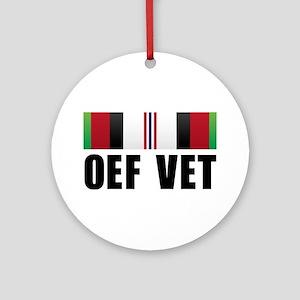 Operation Enduring Freedom (O Ornament (Round)