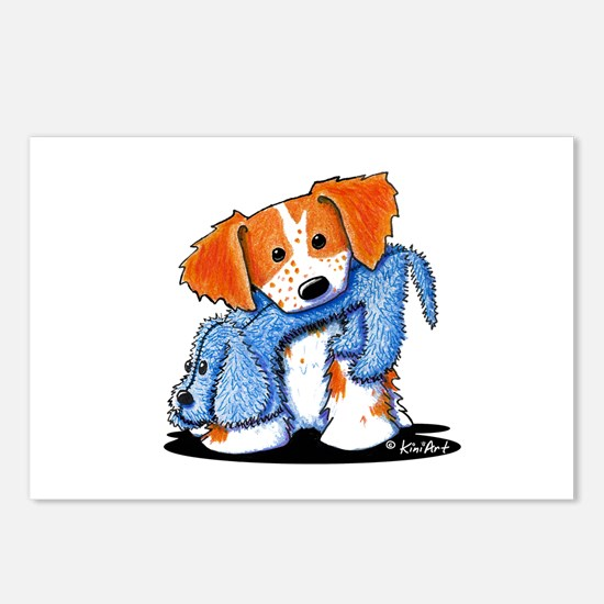 Dog Eat Dog Brittany Postcards (Package of 8)