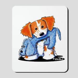 Dog Eat Dog French Britt Mousepad