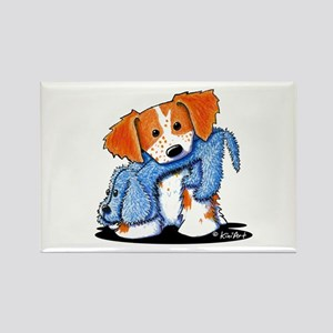 Dog Eat Dog French Britt Rectangle Magnet