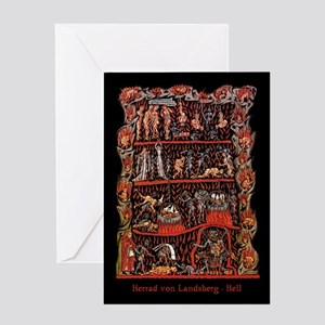 Herrad von Landsberg Hell Greeting Card