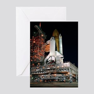 STS-28 Rollout Greeting Card