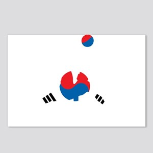 South Korea Soccer Postcards (Package of 8)