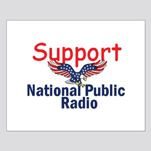 Support NPR Small Poster