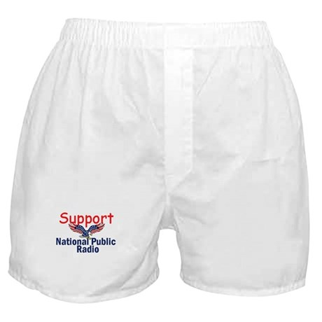 Support NPR Boxer Shorts
