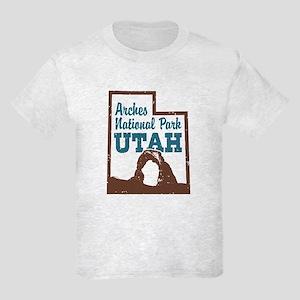 Arches National Park Utah Kids Light T-Shirt