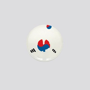 South Korea Soccer Mini Button