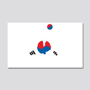 South Korea Soccer Car Magnet 20 x 12