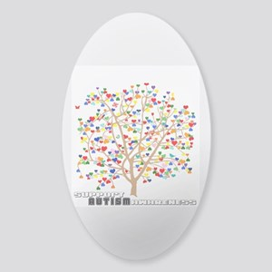 Tree of Autism Sticker (Oval)
