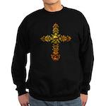 Skull Gold Cross Sweatshirt (dark)