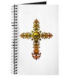 Skull Gold Cross Journal