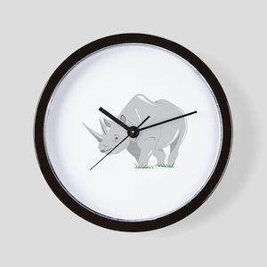 The Shiny Rhino Wall Clock