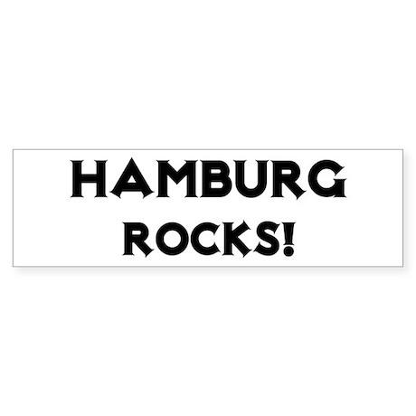 Hamburg Rocks! Bumper Sticker