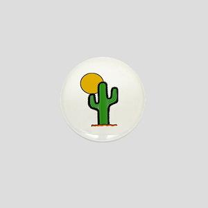 'Desert Cactus' Mini Button