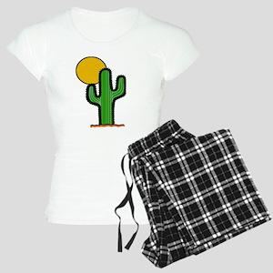 'Desert Cactus' Women's Light Pajamas
