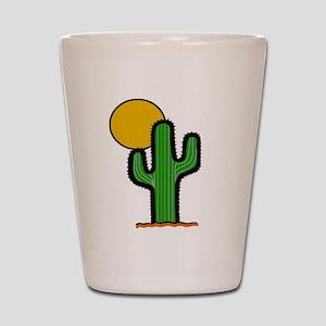 'Desert Cactus' Shot Glass
