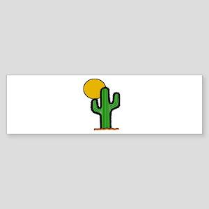 'Desert Cactus' Sticker (Bumper)