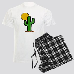 'Desert Cactus' Men's Light Pajamas
