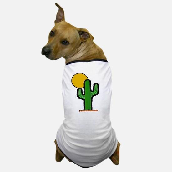 'Desert Cactus' Dog T-Shirt