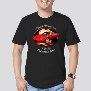 Tesla Roadster Men's Fitted T-Shirt (dark)
