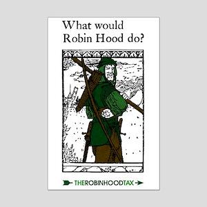 Robin Hood Mini Poster Print