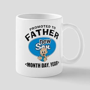 Personalized New Father Mug