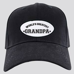World's Greatest Grandpa Black Cap