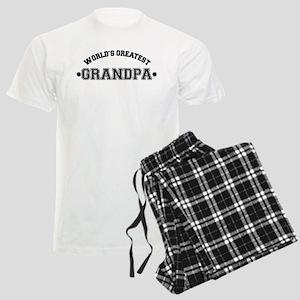 World's Greatest Grandpa Men's Light Pajamas