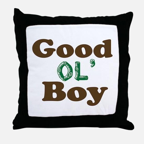 GOOD OL' BOY Throw Pillow