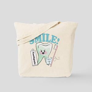 Dentist Dental Hygienist Teeth Tote Bag