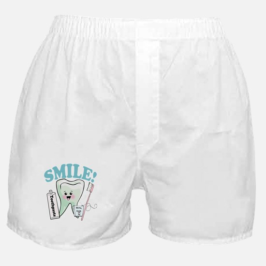 Dentist Dental Hygienist Teeth Boxer Shorts