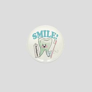 Dentist Dental Hygienist Teeth Mini Button