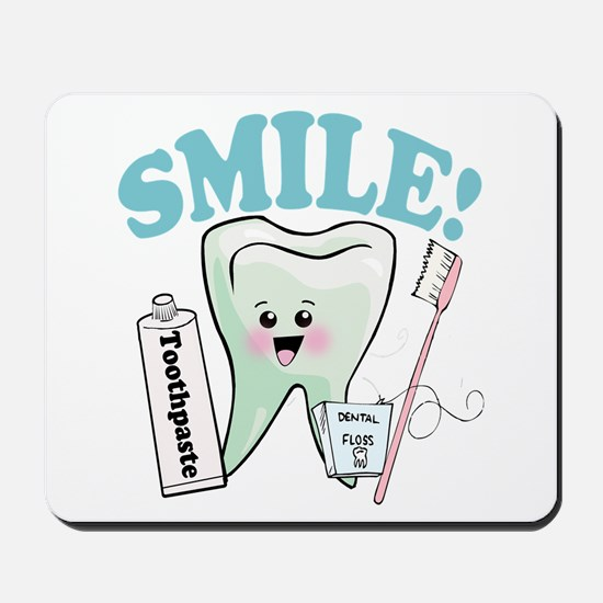 Dentist Dental Hygienist Teeth Mousepad