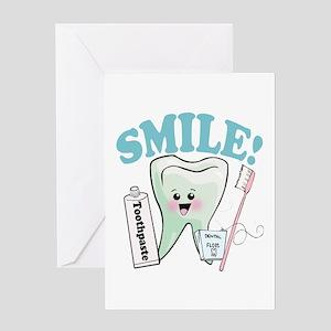 Dentist Dental Hygienist Teeth Greeting Card