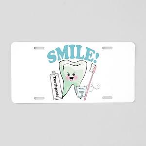 Dentist Dental Hygienist Teeth Aluminum License Pl