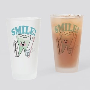 Dentist Dental Hygienist Teeth Drinking Glass