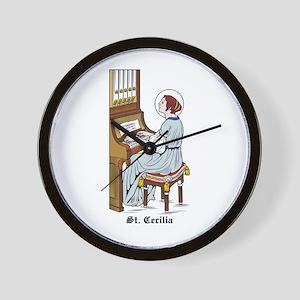 St. Cecilia Wall Clock