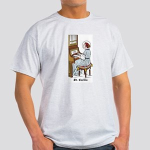 St. Cecilia Ash Grey T-Shirt