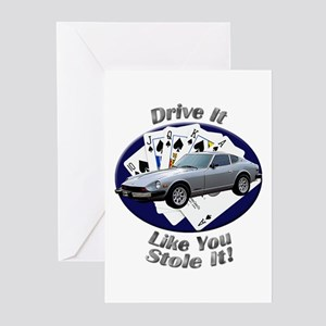Datsun 280Z Greeting Cards (Pk of 20)