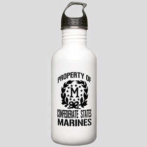 Property Of Confederate Marin Stainless Water Bott