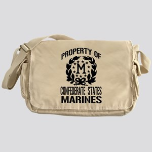 Property Of Confederate Marin Messenger Bag
