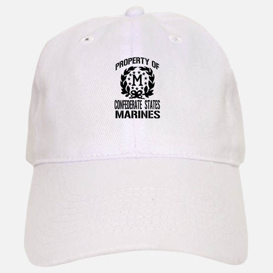 Property Of Confederate Marin Baseball Baseball Cap