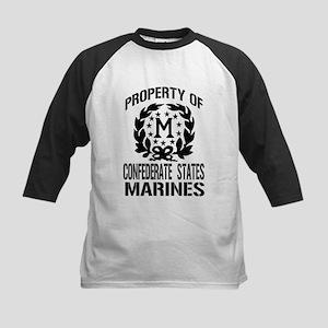 Property Of Confederate Marin Kids Baseball Jersey