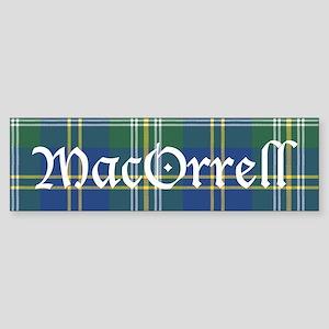 Tartan - MacOrrell Sticker (Bumper)
