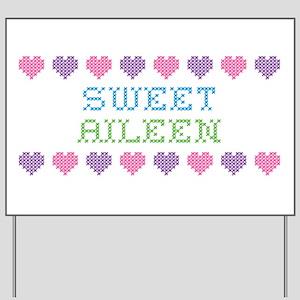 Sweet AILEEN Yard Sign