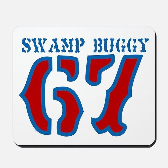 SWAMP BUGGY Mousepad